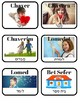Hebrew Vocabulary Cards: School Words