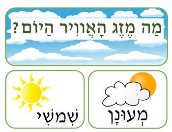 Hebrew Weather words