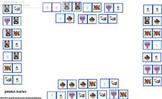 Hebrew chanukah domino
