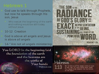Hebrews Power Point Notes