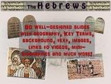 EPIC Hebrews Unit: 4 PPTs, 80 slides, 6 handouts, days of fun & engagement