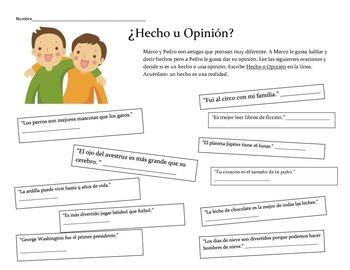 Hecho u Opinión 2