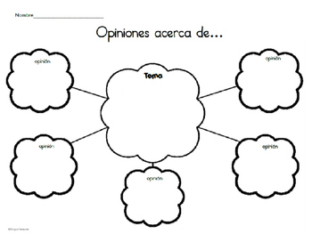 Hecho y opinión Juego 1-Fact and opinion Set 1 Spanish