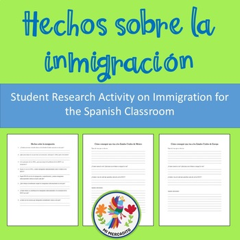 Hechos sobre la inmigración: Student Research Activity on Immigration