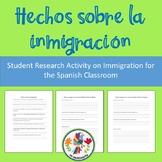 Hechos sobre la inmigración: Student Research Activity on