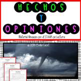 Hechos y Opiniones ~ Material Alineado al STAAR de Lectura