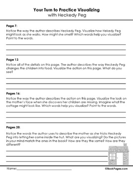 Heckedy Peg Lesson Plans & Activities Package, Second Grade (CCSS)