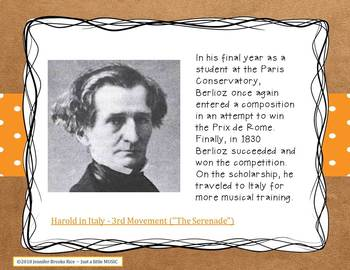 Hector Berlioz - his life and music PPT