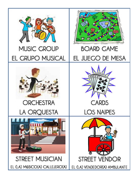 graphic relating to Hedbanz Cards Printable named Hedbanz (Headbands) for Spanish 3
