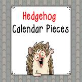 HedgeHog Theme Calendar Pieces