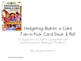 Hedgehog Bakes A Cake Fan & Pick Cards (Trophies 2nd grade)