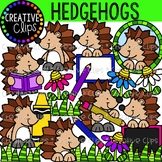 Hedgehog Clipart {Creative Clips Clipart}