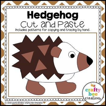 Hedgehog Cut and Paste