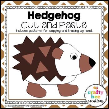 Hedgehog Cut and Paste