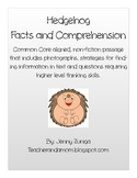 Hedgehog Facts and Comprehension