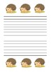 Hedgehog Handout