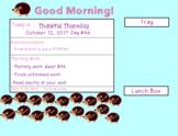 Hedgehog Morning Meeting/Songs