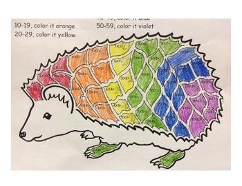 Hedgehog Multiplication Puzzle