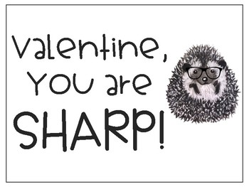 Hedgehog Valentines