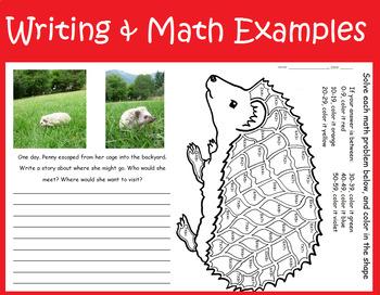 Hedgehog biology mini-unit lesson plan
