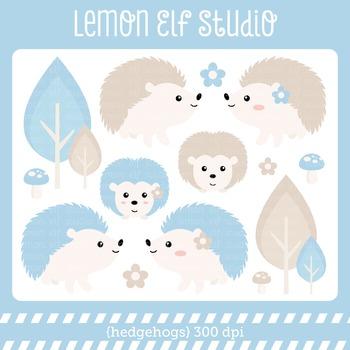 Hedgehogs-Digital Clipart (LES.CL55A)