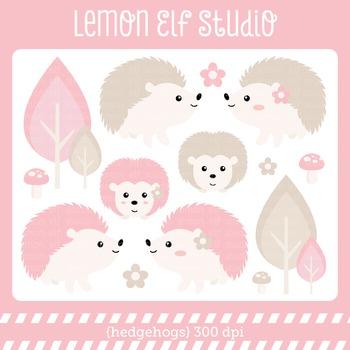 Hedgehogs-Digital Clipart (LES.CL55B)