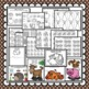 Apple Trouble Craft: Hedgehog and Apple Craft: Fall Crafts: Apple Craft