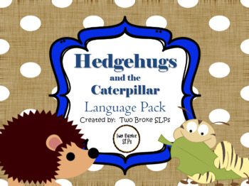 Hedgehugs and the Caterpillar Language Pack