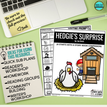 Hedgie's Surprise Activities and Read Aloud Lessons