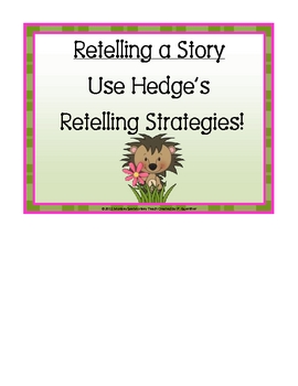 Hedgies Retelling Strategies