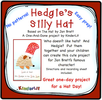 The Hat by Jan Brett  A One-and-Done Project