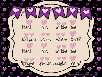 Heel, Toe on the Line--a folksong for practicing pentatonic solfege