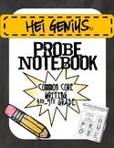 Hei Genius! CCSS Writing PROBE Notebook 3rd-5th grade