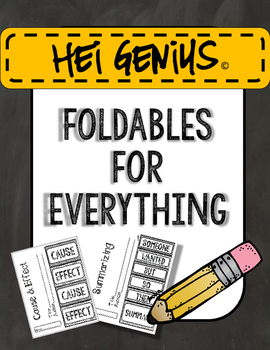 Hei Genius! Foldables for Everything