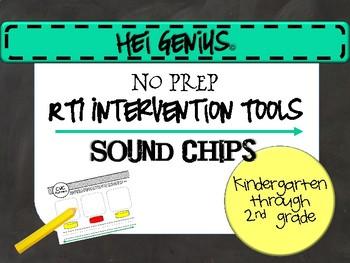 Hei Genius! RTI Intervention Tools-Sound Chips (K-2)