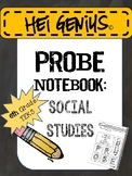 Hei Genius! TEKS PROBE Notebook: 6th Grade Social Studies
