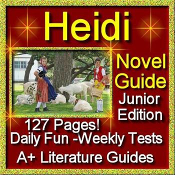 Heidi Novel Study Junior Classic Edition Common Core Aligned