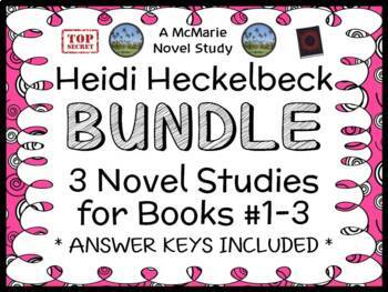 Heidi Heckelbeck BUNDLE (Wanda Coven) 3 Novel Studies / Comprehension (62 pages)