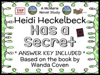Heidi Heckelbeck Has a Secret (Wanda Coven) Novel Study / Comprehension