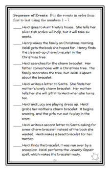 Heidi Heckelbeck and the Christmas Surprise (Wanda Coven) Novel Study (24 pages)