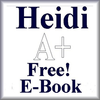 Heidi by Johanna Spyri - Free Ebook!