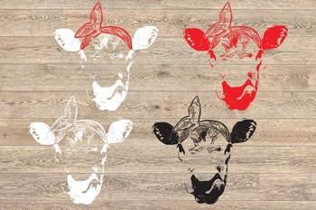 Heifers SVG COW SVG Cutting Files Clip Art Studio3 farm mom 97sv