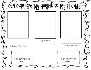 Height Comparison Between Friends