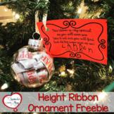 Height Ribbon Ornament Freebie