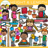 Height and Length Math Measurement Clip Art