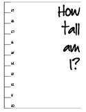 Heigt Chart for Your Classroom