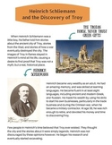 Heinrich Schliemann and the Discovery of Troy