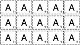 Hele alfabetet med nummererte bokstaver + multiplikasjonsa
