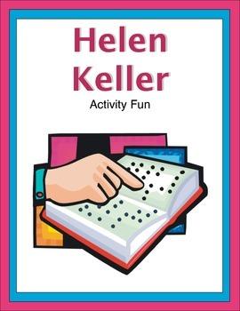 Helen Keller Activity Fun