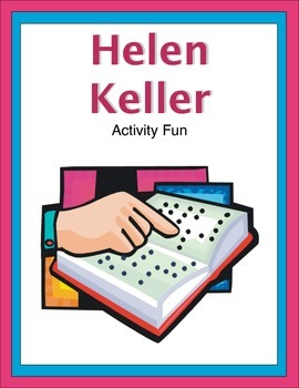Helen Keller Activity Fun
